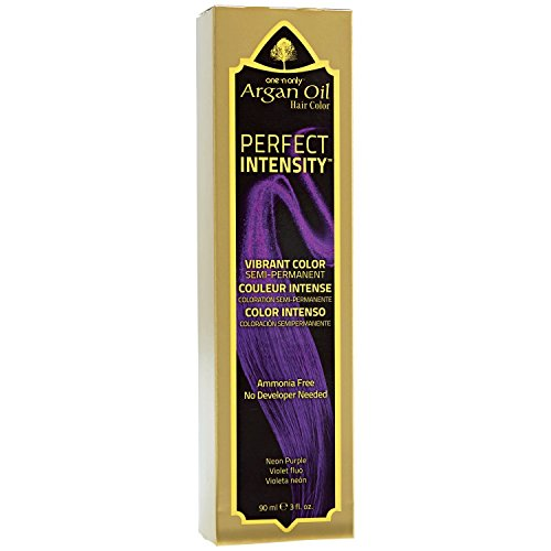 One 'n Only Perfect Intensity Neon Purple Semi Permanent Hair Color Neon Purple