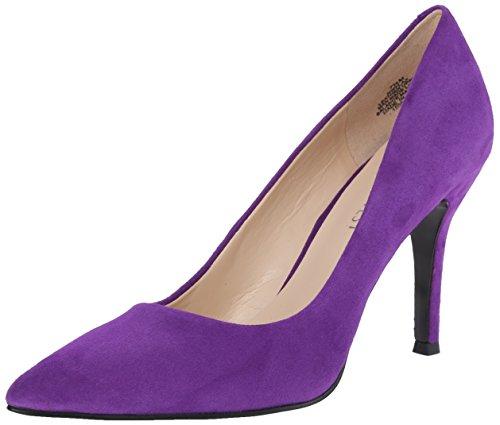 Nine West Womens Flax Suede Dress Pump Purple 7.5 M US