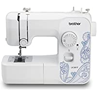 Brother LX3817 17-Stitch Full-size Sewing Machine (White)