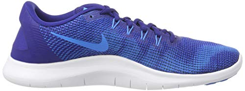 Royal Multicolore Laufschuh Nike Uomo Flex 401 Deep Hero Herren White 2018 Running Scarpe Blue Blue Run AqqvB