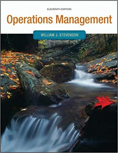Operations Management Operations And Decision Sciences