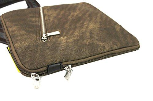 Borsello Uomo Roncato Tracolla Piatta Bandoliera X Mini Tablet 46.58.30.Moro