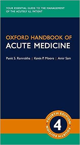 Kết quả hình ảnh cho Oxford Handbook Of Acute Medicine 4th
