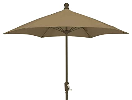 Wind Resistant Patio Umbrella (Black)