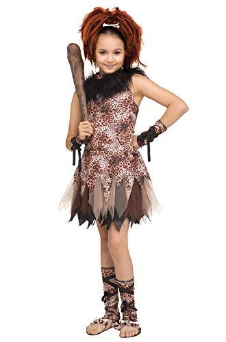 Fun World Cave Girl Cutie Child Costume-Medium