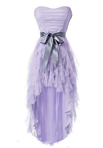Linie A Lavendel Fanciest Damen Kleid AwCY66q