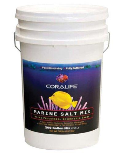 Coralife 81705 Marine Salt Mix Box, - Gallon Box Salt 200