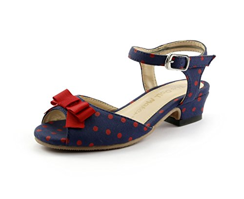 Heel Polka Dot Sandal - 3