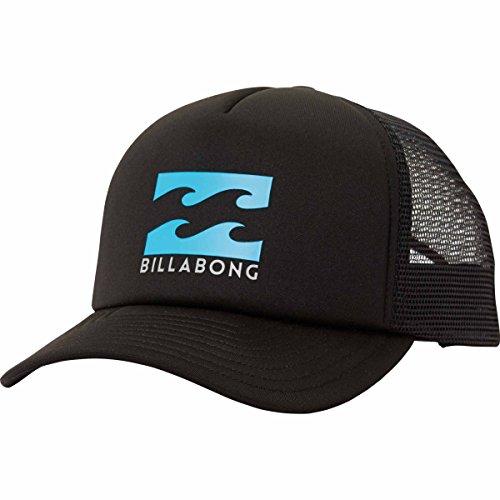 Podium Cap (Billabong Men's Podium Trucker, Black/Blue, One)