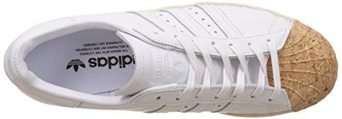 Adidas Superstar 80s Kork W - Ba7605 Hvit-beige
