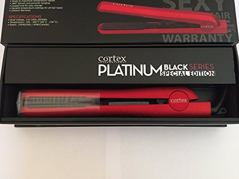 cortex-international-platinum-black-series-special-edition-flat-iron-1-1-4-inch-metallic-red-rubber-