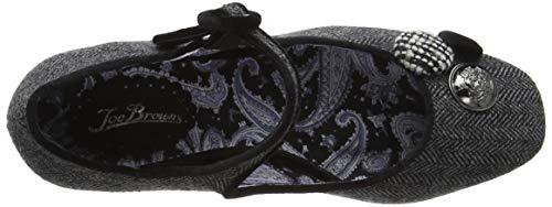 Gris Browns Fermé grey Bout A Escarpins Divine Inspiration Shoes Femme Joe TYqd8wFT