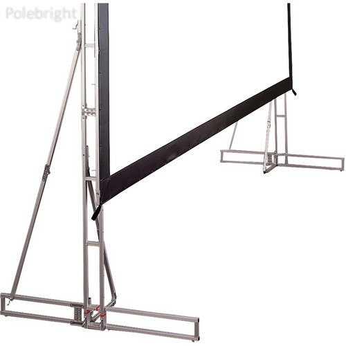 Cinefold Truss-Style Portable and Foldable Support Feet (Pair) - Polebright update - Cinefold Truss Projection Screen