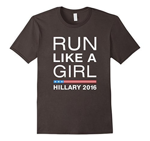 Run Like A Girl Hillary T-Shirt