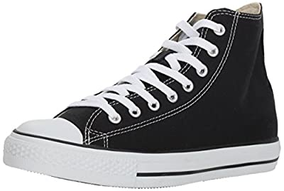 Converse Men's Chuck Taylor High Top Sneaker Black 5.5 M