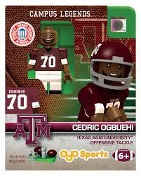 Cedric Ogbuehi OYO Generation 1 G1 Series 1 Texas A&M Aggies NCAA LE Mini Figure