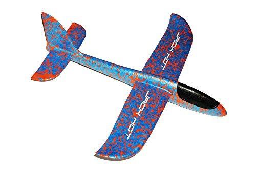 JACKHOT EPP Foam Hand Throw Launch Glider Air Plane Kids Friendly Water Toy Hand Launch Glider