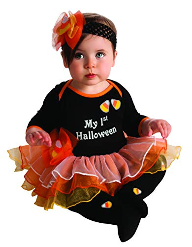 Rubie's My First Halloween Tutu And Onesie, Black, -