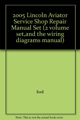 2005 lincoln ls owners manual - 3