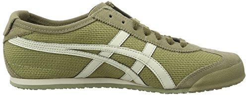 Asics Mexico 66 Sneakers, Scarpe da Ginnastica Basse Unisex-Adulto Multicolore (Light Olive/Off-white-8502)