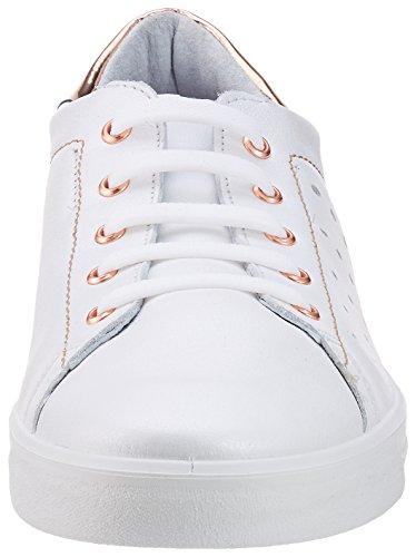 Weiss Sneaker Sneaker Donna Basse Ricosta Ricosta Bianco Midori Midori adq48aw