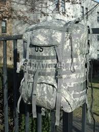 MOLLE II Large Rucksack ACU With Shoulder Straps Belt & Frame (Has Main Compartment Drawstring)