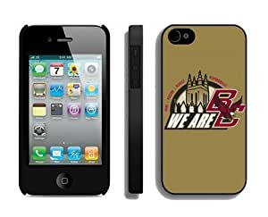Cool Iphone 4s Cover Ncaa Boston College Eagles 01 Personalized Iphone 4 Mobile Phone Protective Case