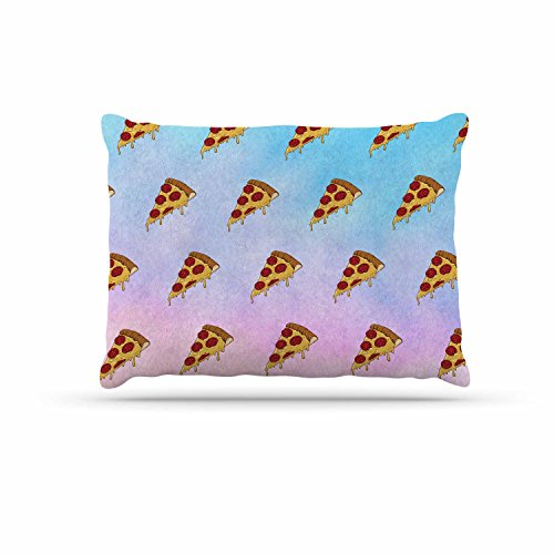 KESS InHouse Juan Paolo ''Lucid Pizza'' Food Pattern Dog Bed, 30'' x 40'' by Kess InHouse
