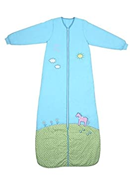 Slumbersac Kids Long Sleeve Sleeping Bag (12-36 Months, 3.5 Tog, Pony) A-SL-Pony-35-3