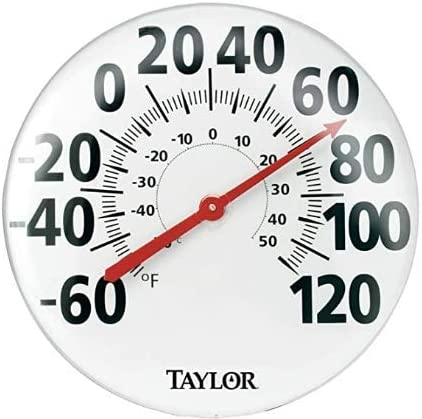 18-Inch Taylor Precision Products Patio Thermometer Pack of 2