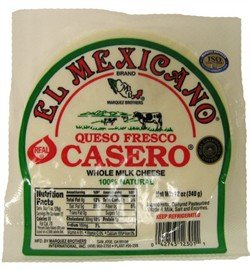 Queso Fresco Casero El Mexicano TriPack 30 Oz