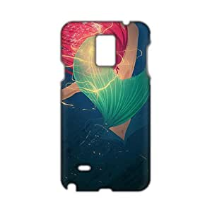 Evil-Store Aesthetic mermaid 3D Phone Case for Samsung Galaxy Note4