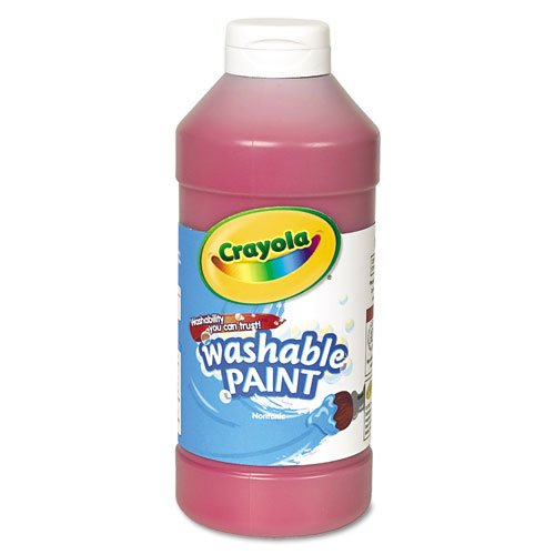 Crayola Washable Paint 16oz Red (Tempera Paint Red)