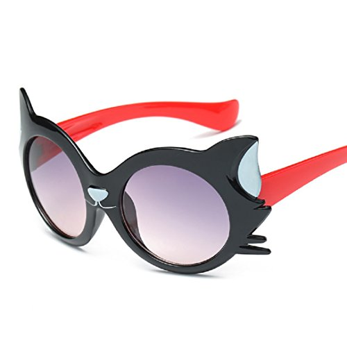 YABINA Kids Sunglasses Cartoon for Boys and Girls Polarized UV400 Children Age 1-12 (A1)