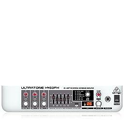 Behringer Ultratone K450fx Ultra-Flexible 45-Watt, 3-Channel Pa System / Keyboard Amplifier With Fx And Fbq Feedback Detection