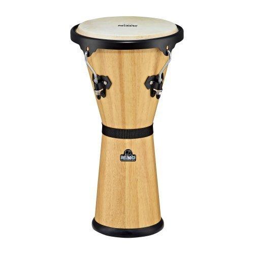 Nino Percussion NINO48NT 10-Inch Wooden Djembe - Natural (Djembe Natural)