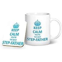 Keep Calm eres la mejor padrastro taza