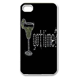 custom iphone4,iphone4s Case, cheers durable case for iphone4,iphone4s at Jipic (style 5)