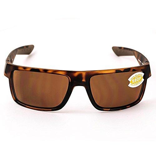 Costa Del Mar Motu Sunglasses, Retro Tortoise, Copper 580 Plastic Lens