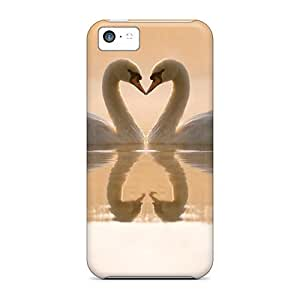 Slim Fit Tpu Protector Shock Absorbent Bumper Meet In The Lake Case For Iphone 5c