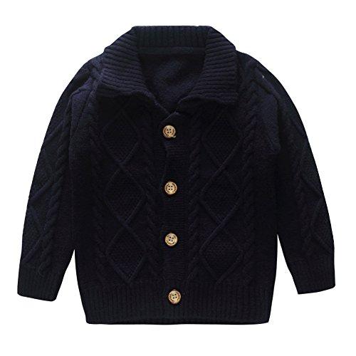 Detail Cashmere Cardigan (Little Baby Boys Cashmere Button Lapel Cardigan Sweater Navy Size 12M)