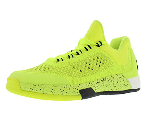 Adidas Performance Hommes 2015 Crazylight Boost Primeknit Chaussure Solaire Jaune / Solaire Jaune