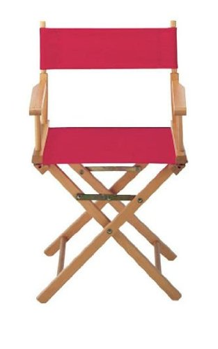 Director Chair Cover Kit Color: Red by Casual Home