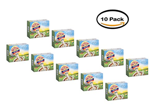 PACK OF 10 - Land O Lakes Mini Moos Coffee Creamer Half & Half Dairy Creamer 24 ct by Land O Lakes
