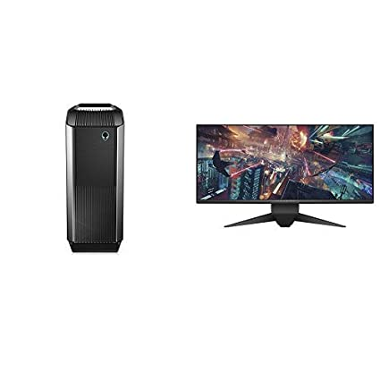 Alienware Gaming PC Desktop - 8th Gen Intel Core i7-8700, 2TB HDD +