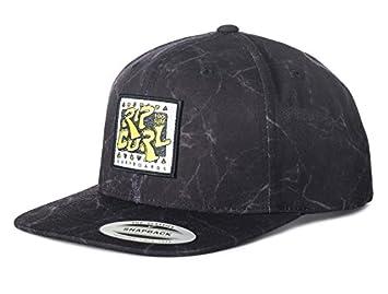 230c7220 RIP CURL Rad Snapback Hat, Black, One Size: Amazon.co.uk: Sports ...