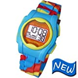 Global Assistive Devices VM-SMC VibraLITE MINI Vibrating Watch with Multi-Colored Silicone Band
