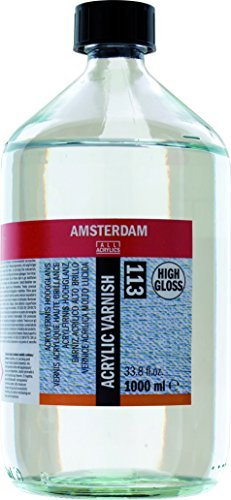 Amsterdam Protection - Acrylic Varnish - High Gloss - 1000ml by Amsterdam