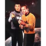 (16x20) Star Trek Spock and Captain Kirk TV Poster Print