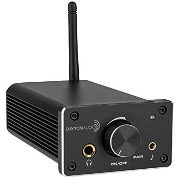 Amplifiers Dayton Audio DTA-120BT2 Class D Mini Amplifier 60 WPC with Bluetooth